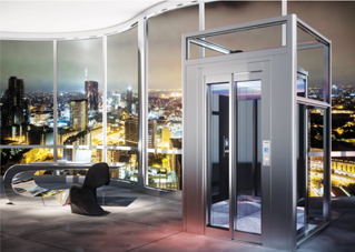 Cadillac lifts escalators products hydraulic home lift mrl hydraulic home lift planetlyrics Image collections